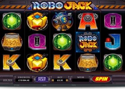 Robo Jack Slots - Free Online Casino Game by Microgaming